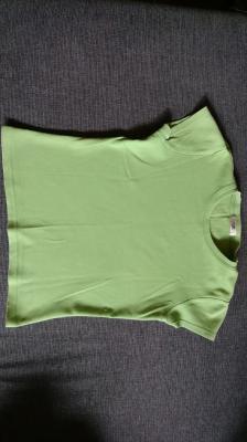 Női zöld S-es pamut póló