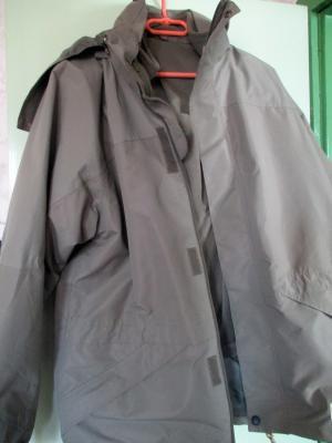 Férfi meleg bélelt túra kabát